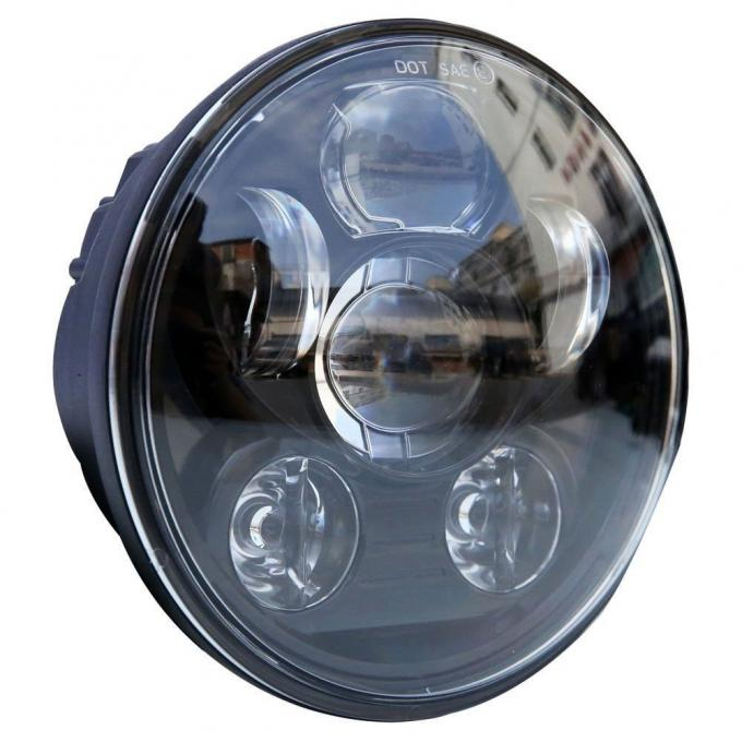 40W Car LED Headlights For Harley Davidson Motorcycles Daymaker Projector