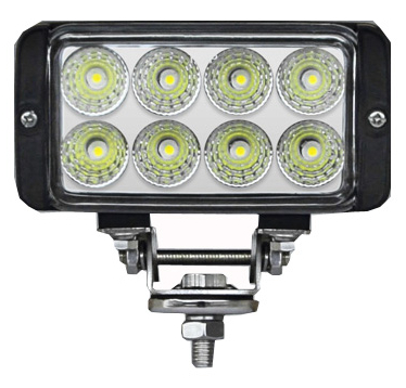 4.5-Inch 24W LED Car work light Double Rows For Truck Vehicle 30000 Hours Above Life Time