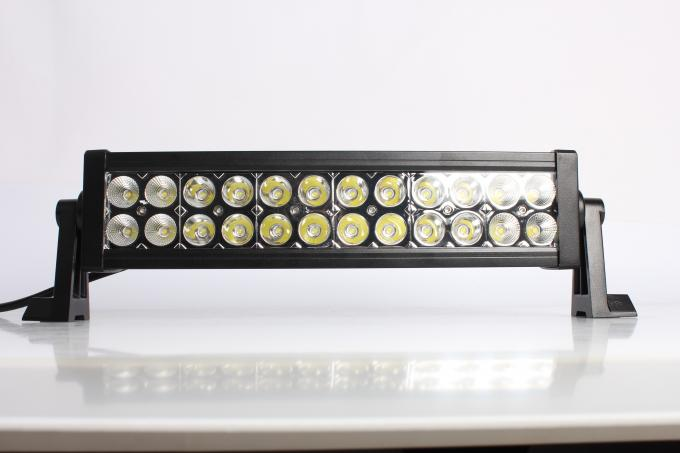 IP67 13.5 Inch / 72W 4x4 Offroad Car Straight Double Row Epistar Led Light Bar