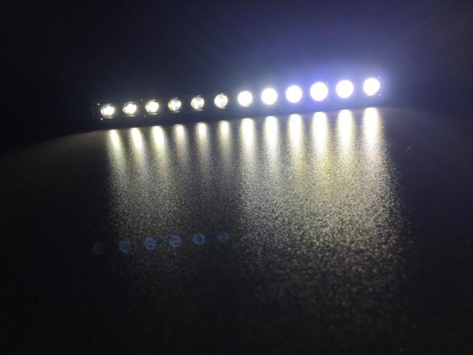 Mini 36W LED Light Bar , Super Slim 13 Inch Led Spot Light Bar Waterproof Cree chips