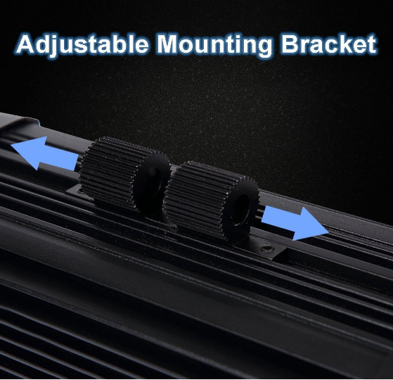 Waterproof Cree LED Light Bar Roof Mount Brackets 40 Inch 8D 180 w 16200lm