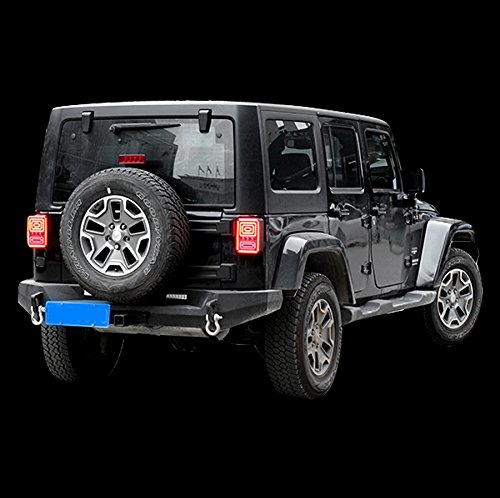 Waterproof 24w 12v 24v Led Stop Tail And Turn Lights For Jeep Wrangler High Brightness