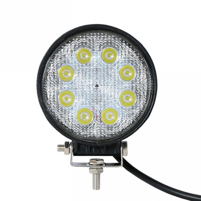 24W 4.5inch Flood / Spot LED Work Light, Off-road Fog Driving Lamp for DRL/SUV/ATV Boat