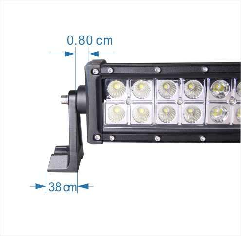 40 inch double row 4D Reflector Auto Curved Led Work Light Bar Original Cree Lamp
