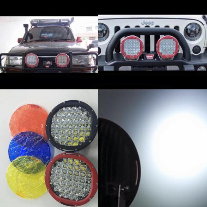 185W 9'' Inch Round 4x4 offroad car led headlight 9inch led driving light for jeep ATVs ,truck