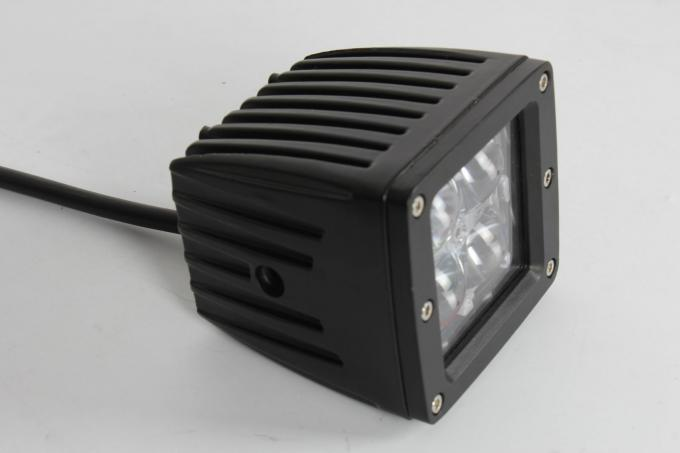 16W 3.5 Inch 4D LED Vehicle Work Light , LED Car Headlight for Truck 4WD Tractor