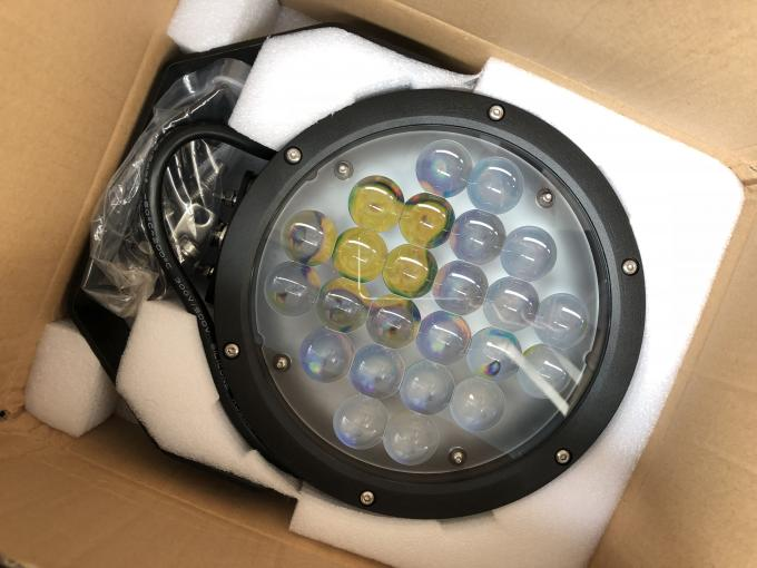 Black Cree 10000 lumen 9 Inch Offroad LED Driving Lights , Round 120W LED Work Light