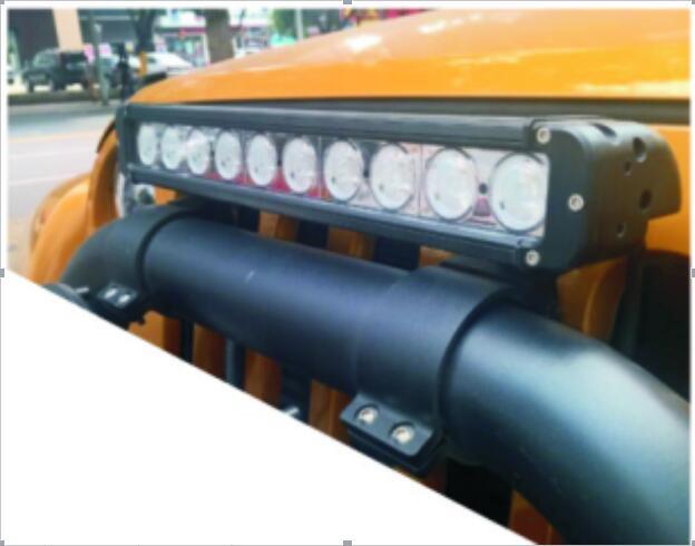 Headlights Black Accessories Firm and Durable Vehicle Bracket Specific Auto LED Lightbar