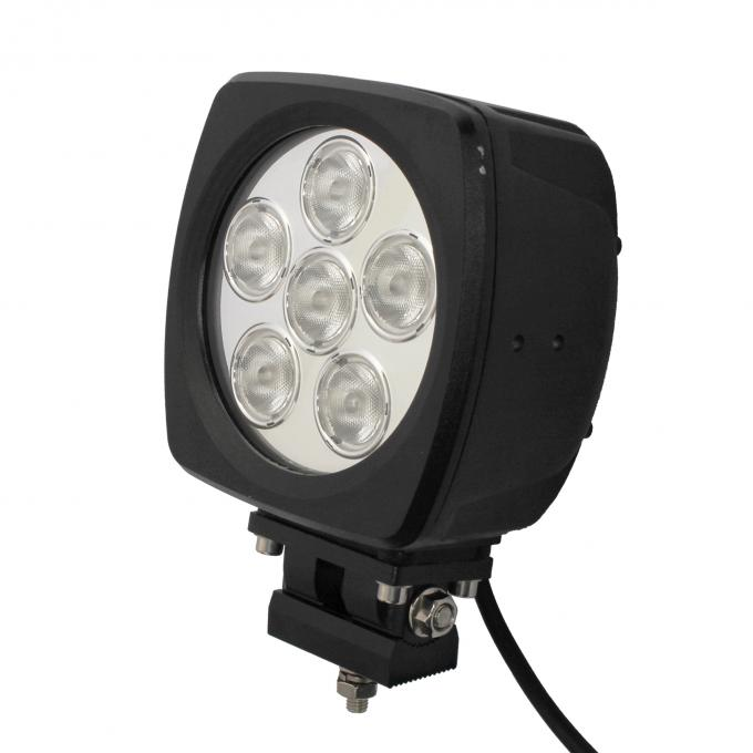 60W high power Led vehicle work light with Flood /Spot beam 6 inch for Off road vehicle