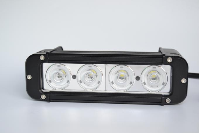 7.8 Inch 40W 3600LM Truck / Jeep Car Light Bar Aluminum Alloy Material