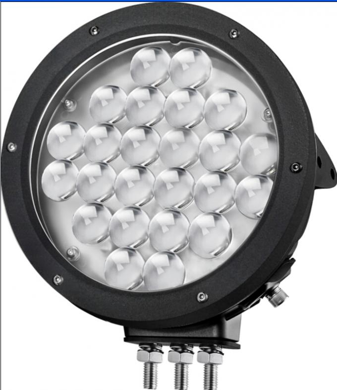 9 inch LED work light with 24pcs*5w high intensity CREE LEDs high lumens for Off Road vehicle