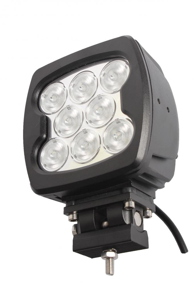 High Performance IP67 waterproof 6800lm Square 80w led work light spot/flood beam for off-road trucks, ATV