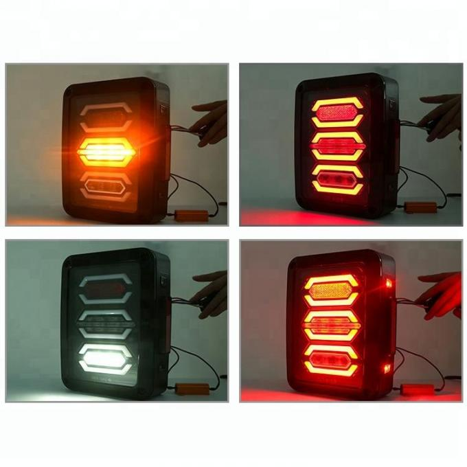 IP68 LED Tail Light Replacement Brake Reverse Lamps for 2008 - 2015 Jeep Wrangler