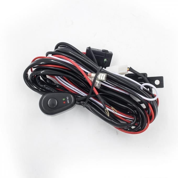 2.5 Meter Automotive LED light bar Wiring Harness with Connector Remote Controller Switch Control for car