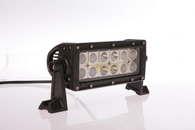 7.5 Inch 36W Ip68 LED Double Row Off Road Light Bars 2520lm Epistar Chips