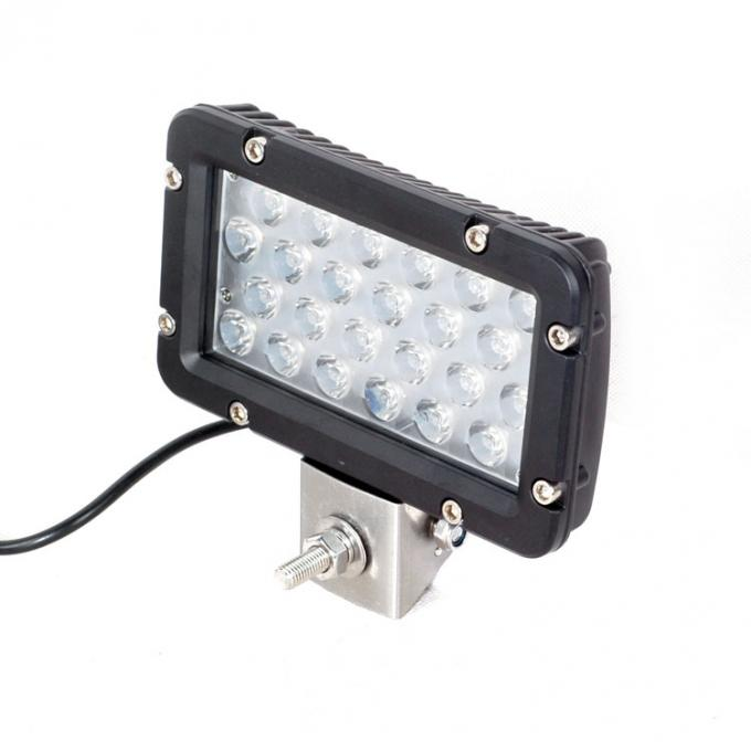 Waterproof IP67 10-30V Square 24W 8 inch Car LED Work Light For SUV ATV Car Truck Tractor Boat