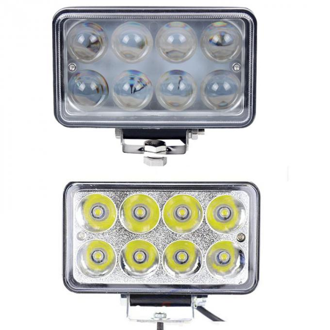 5x6 6 Inch 24W LED Work Light Square Spot/Flood for Off Road Vehicle Motorcycle Truck 12V 24V