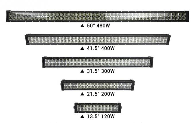 Super Bright 6D 200w 4x4 Off Road LED Light Bar 22 Inch Waterproof