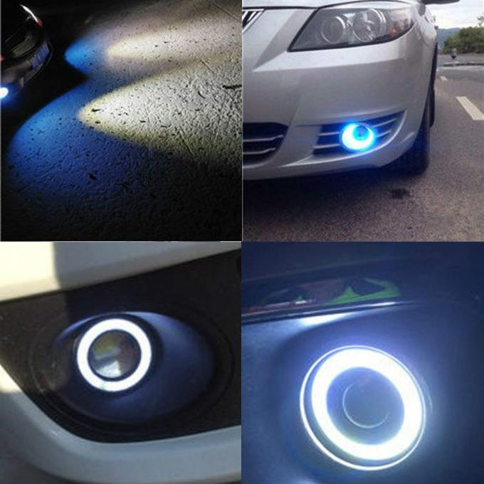 30Watt LED Fog light with Angel Eyes & Remote,LED work light with 3200Lumens RGB color for car