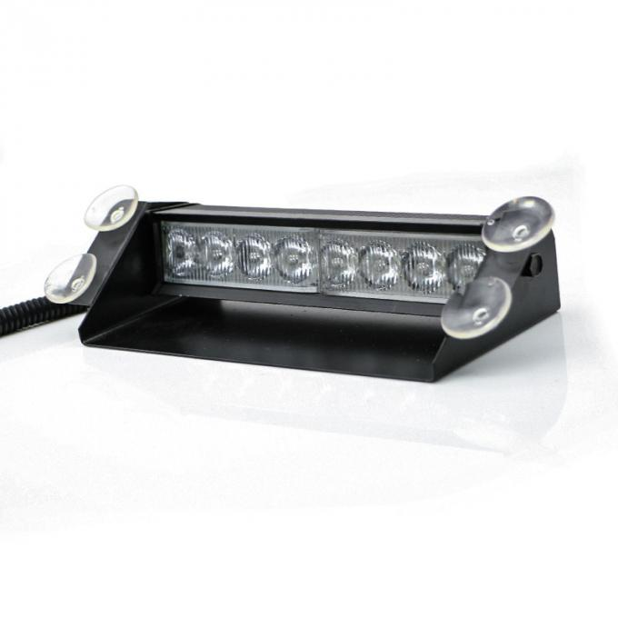 8Watt LED Vehicle Work With Remote Control & Car Cigarette Lighter / LED Emergency Strobe Lights