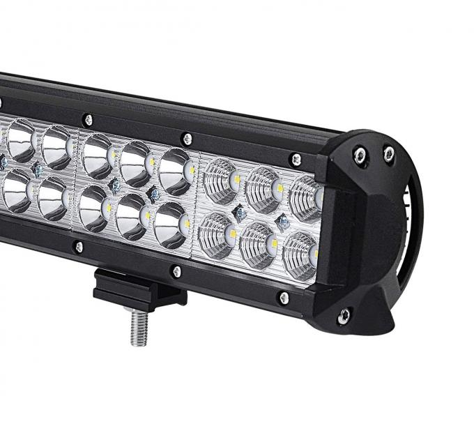 Magnetic Double Row 18 Inch Off Road LED Light Bar 108 W 6000K For SUV Car