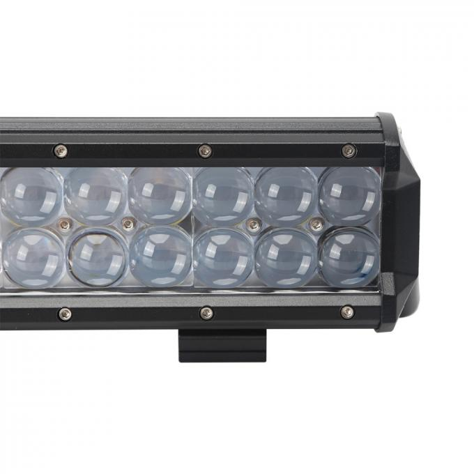 72W 13.5 Inch Double Row Led Light Bar Aluminum Housing For Offroad , Trucks , SUV