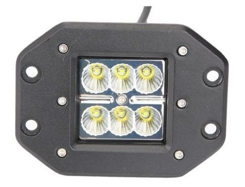 China 24W High Power Flush Mount Off Road Led Lights 1800 Lumen Flood / Spot Beam supplier