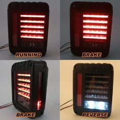 China IP67 LED Tail Lights Back Up Rear Parking Stop Light Shockproof UV Protection supplier