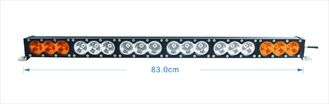 China 180w 33 Inch Car Light Bar Waterproof  Amber / White Color CE RoHS Certified supplier
