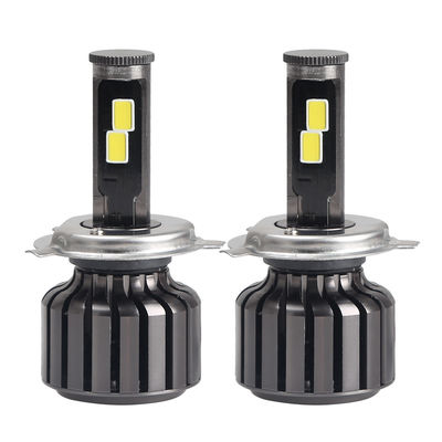 China H4 Car LED Headlights Kit With Mini LED Driver Wire High / Low Beam supplier