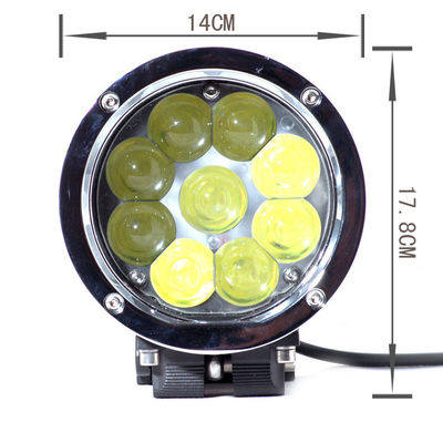 China 5.5 Inch 45W High Lumen Led Truck Headlights, 4D Lens Projector Cree Led Car Headlights supplier
