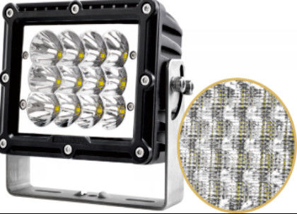 China Square 60w Car LED Headlights For Truck SUV ATV CE RoHS Certification supplier