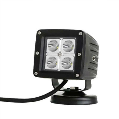 China Cree 16W Led Replacement Fog Lights Flood/Spot Square Bright Fog Lights For Trucks supplier