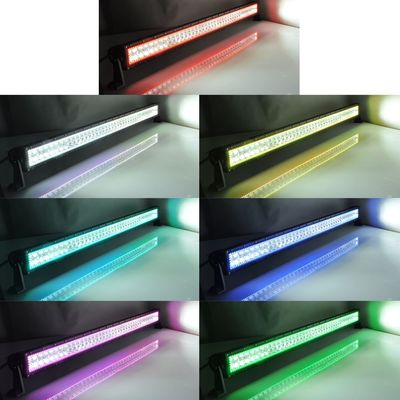 China 240W 41.5' RGB Halo Led Light Bars Trucks Various Color 2880~21000 High Lumen For Cree supplier