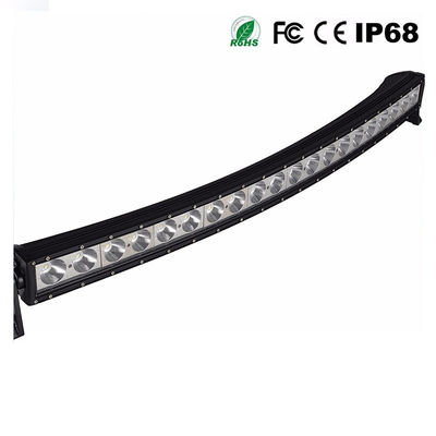 China Roof Mounted Curved Light Bar For Truck , Automotive 200w Single Row Led Light Bar supplier