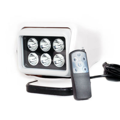 China 30W Rechargeable Led Work Light 12V Battery Power Wireless Remote Control Type supplier