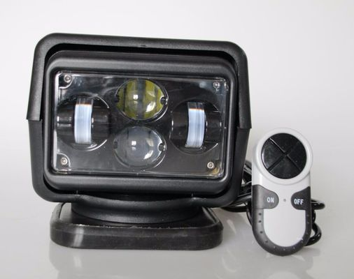 China Rotating Wireless 60 Watt 7 inch LED Search Light For Off Road Truck 12v / 24v supplier