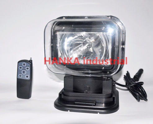 China 60w 360 Degree Offroad HID Searchlight ,  Xenon Rotating Marine Search Light supplier