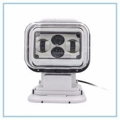China 7 Inch Marine LED Search Light  60 Watt Waterproof Magnetic Remote Control White color supplier