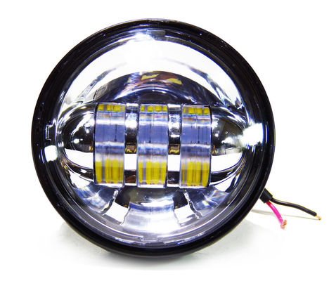 China 4.5 inch Harley Davidson motorcycle Fog lights , with 30w cree chip with 6000K Xenon White color light supplier