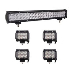 China Cars Auto Parts LED Mini Flood Work Light Bar IP68 LED Offroad Light Bar Fog Lights supplier