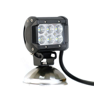 China Double Row  4-inch/18W Cree LED Mini Work Lightbar, for ATV, SUV, Trucks Off-road Driving supplier
