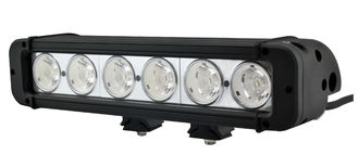 China 10.9 inch 60watt Ultraslim Single Row Flood CREE LED Car Light Bar For Offroad with Spot/ Flood/Combo beam supplier