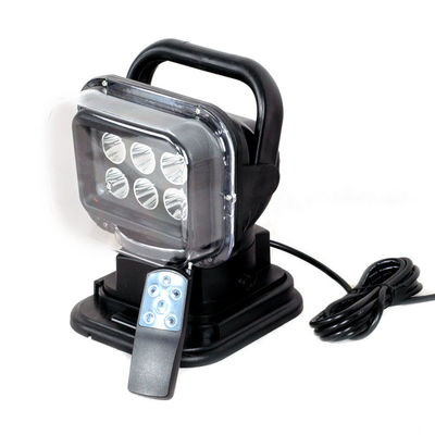 China 7-inch LED Search light Mount with magnets and remote control & a car cigarette lighter for Off road supplier