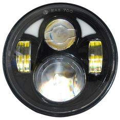 "China Round Jeep Wrangler Jk Led Headlight 7"" Moto Led Projector Headlamp  7"" 80w supplier"