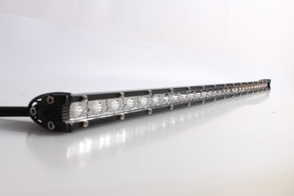 "China 31"" 90W 7200lm LED Work Light Bar Special Slim Single Row Combo for Jeep Mini Nissan supplier"