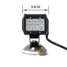 China 3 Year Warranty Super Bright IP67 Flood Spot Beam CREE LED Truck Work Lights 12v 24v 18w supplier