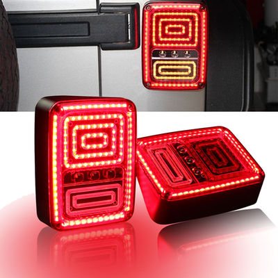 China High Quality Rear LED Tail Lights Brake Reverse Turn Singal Lamp for Jeep Wrangler JK 07-16 supplier
