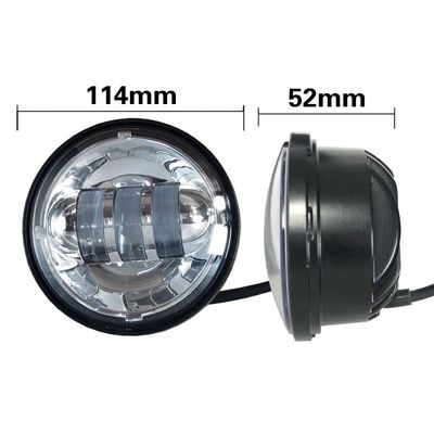 China 4.5 Inch Harley Davidson 1800lm 30w Vehicle LED fog light With Aluminum Material Housing supplier