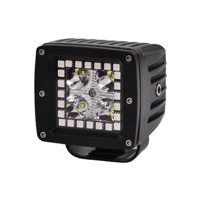 China 3.2 Inch 12w RGB Offroad Led Work Light , 12V 24V LED Work Light ATV SUV Mine Boat Lamp 4WD supplier